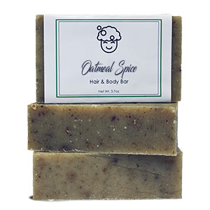 Clove & Oats Hair & Body Bar