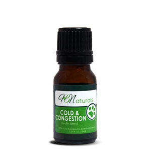 Cold & Congestion For Pets Essential Oil Blend