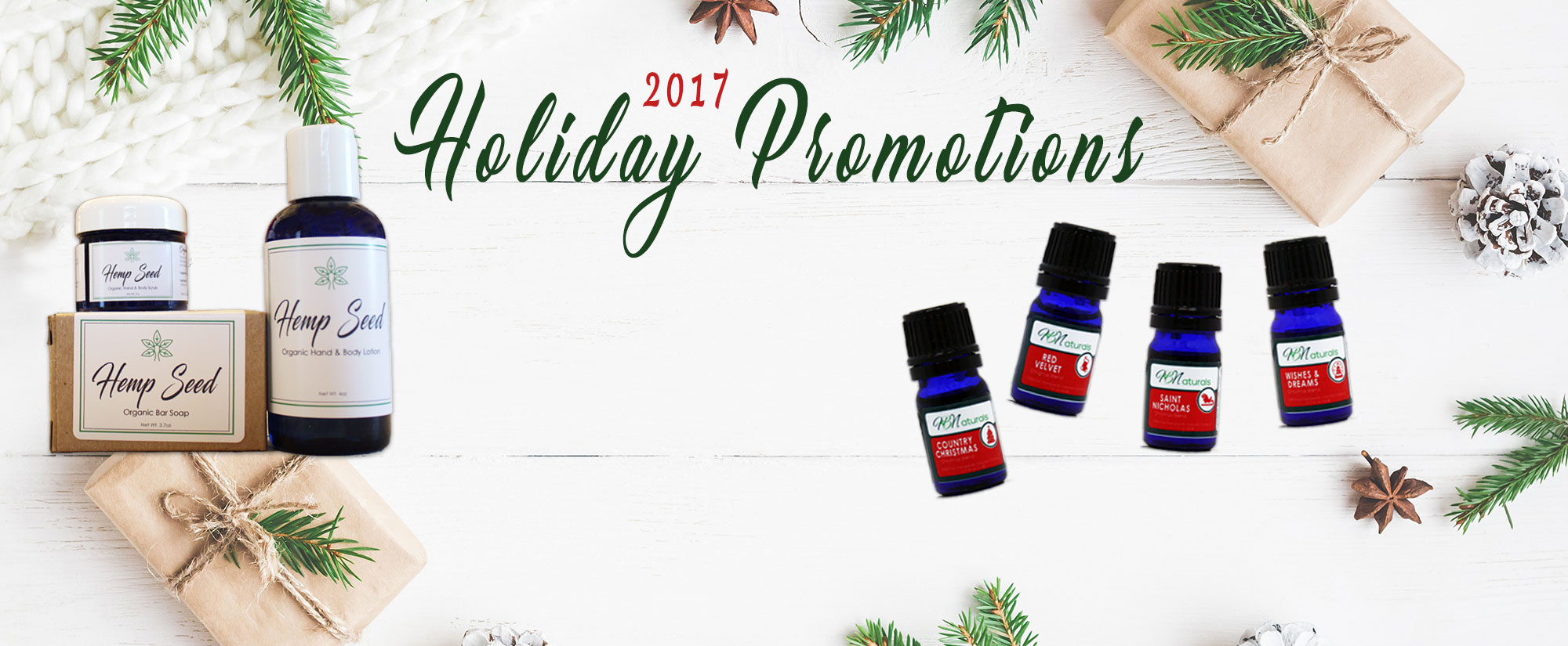 2017 Holiday Promotions