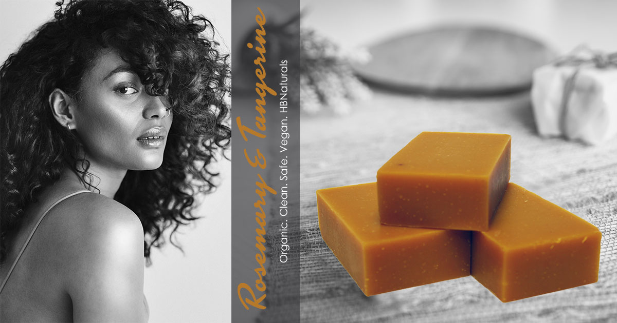 Rosemary & Tangerine Hair & Body Bar